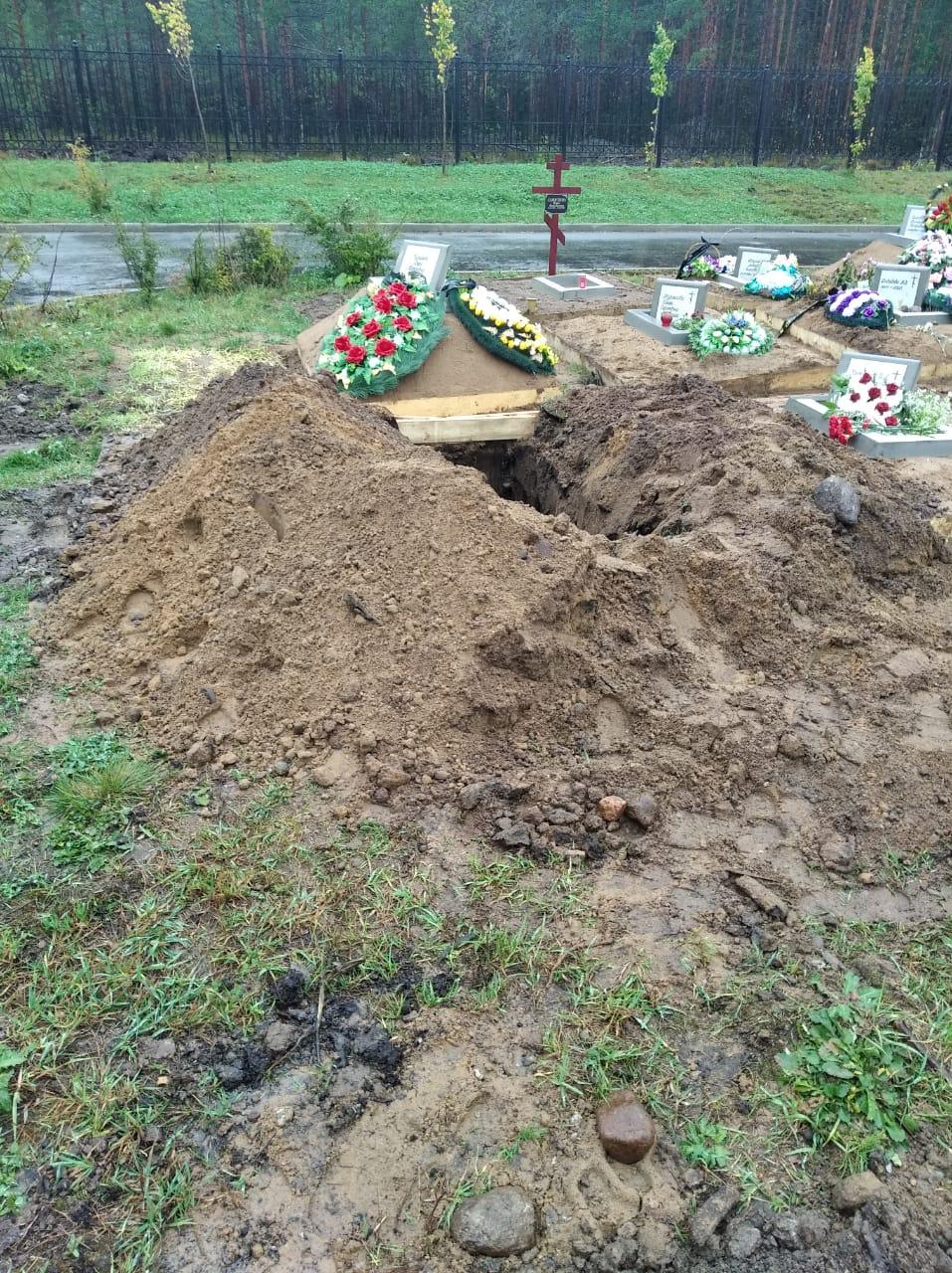 похороны на белоостровском кладбище