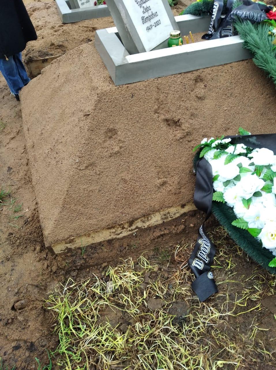 похоронить человека на белоостровском кладбище