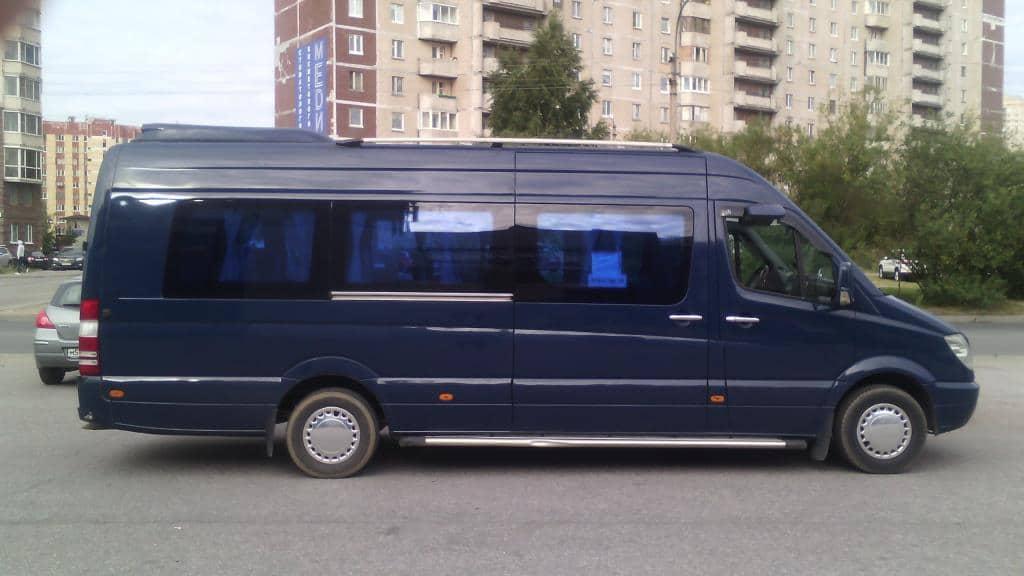 пассажирский микроавтобус на похороны