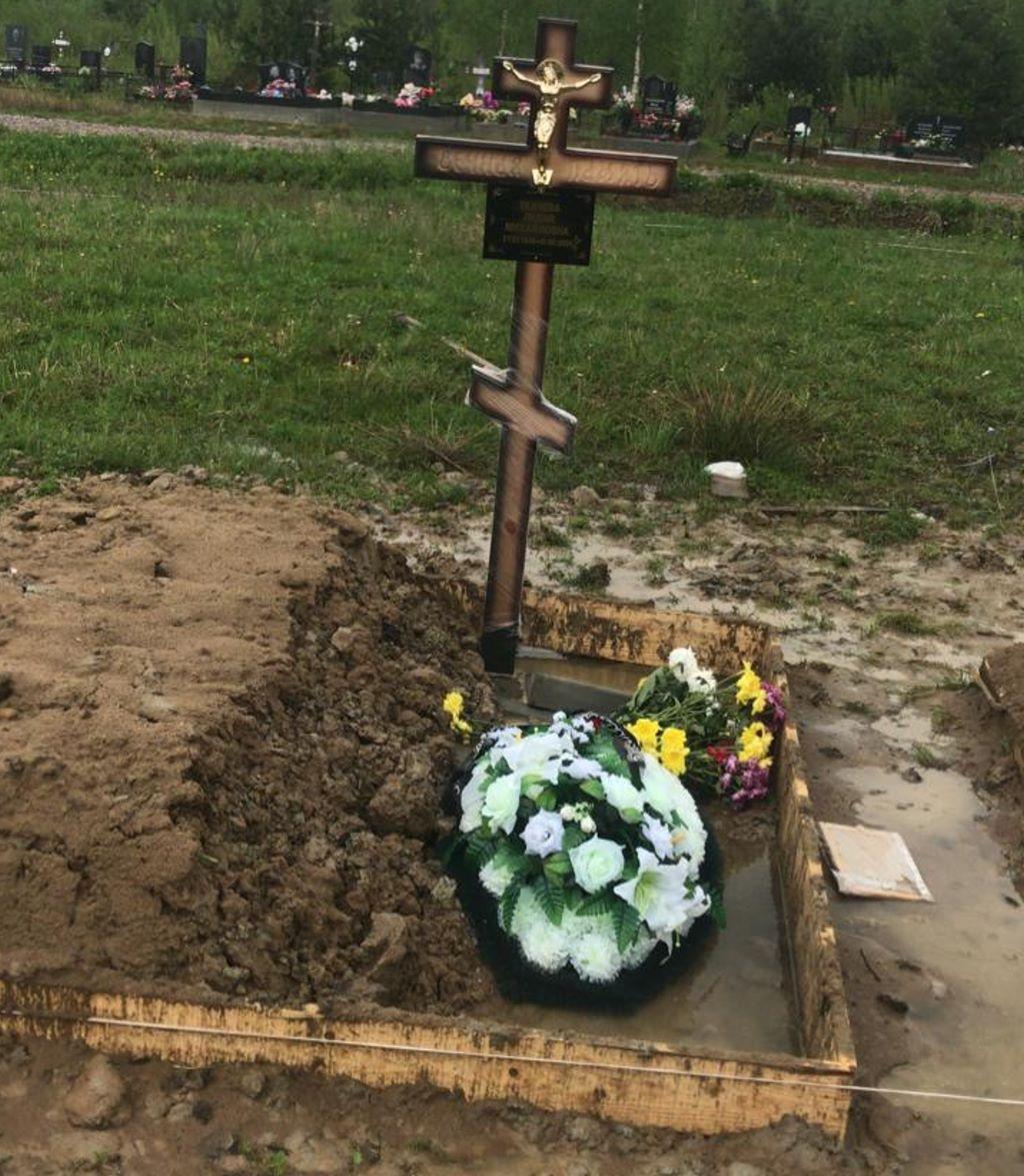 новое колпинское кладбище захоронение на новое место